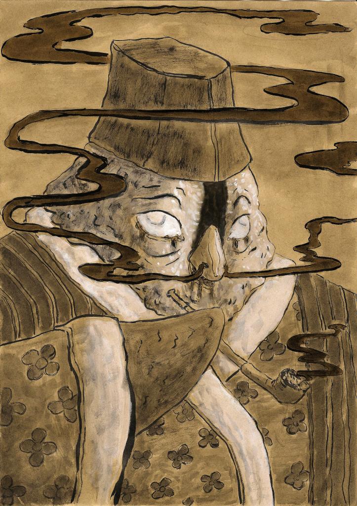 Tegnet af Frank Rombouts